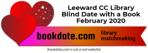 Leeward CC Library's Blind Date with a Book logo