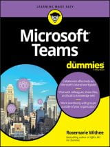 Microsoft Teams for Dummies book cover.